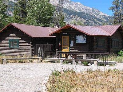 Double Diamond Dude Ranch Dining Hall - Grand Tetons - Wyoming - USA