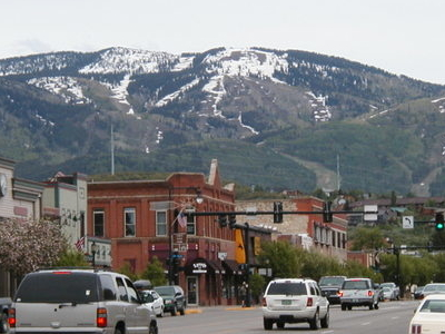Downton Steamboat Springs In May 2006