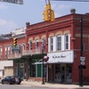 Downtown Bellevue Ohio On East Main Street.