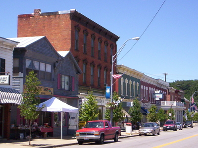Downtown Bellville On Main Street In 2008.