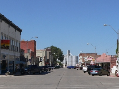 Downtown Crawford Looking North From Linn