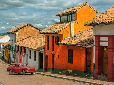 Downtown Bogota - Colombia