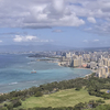 Downtown Honolulu From The Diamond Head