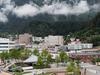 Downtown Juneau With Mount Juneau
