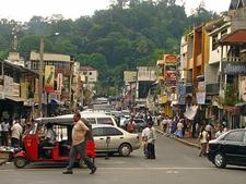 Downtown Kandy - Street View