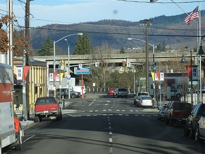 Downtown Medford OR