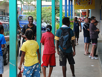 Downtown Port Vila