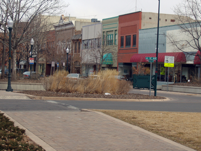 Downtown  Greeley  Colorado