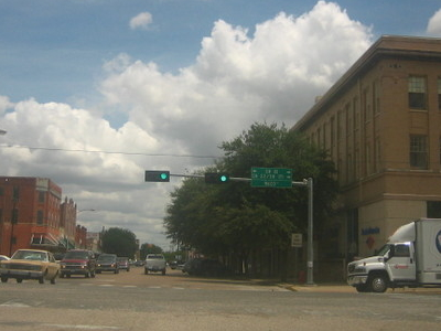 Downtown  Hillsboro   Texas
