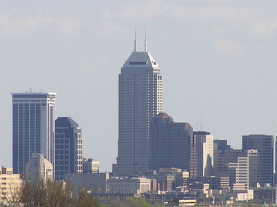 The Chase Tower In The Center.