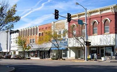 Downtown Lasalle Illinois.