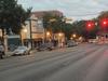 Downtown  New  Braunfels On Rainy Morning