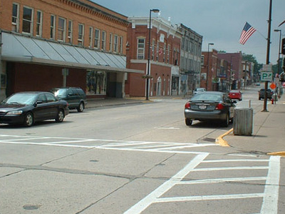 Downtown Platteville