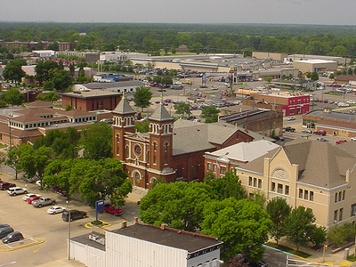 Downtown Terre Haute Looking Southwest