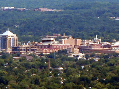 Downtown Wausau From Rib Mountain