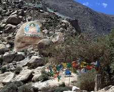 Drepung Mountain Buddha