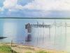 Drying Fishing Nets At Lake Seliger