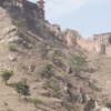 Steep Hill Climb Up Amber Fort