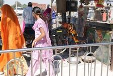 Bullet Baba Devotees Offering Prayers - Jodhpur