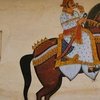 City Palace Wall Paintings - Udaipur