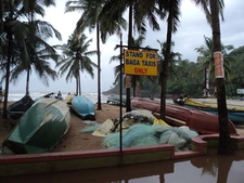 Baga Beach Boats