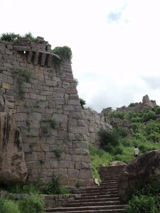 Golconda FortStaircase To The Top