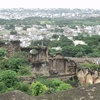 Hyderabad City Spread On The East Side From Golkonda Fort