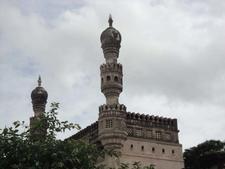 Mosque Minarets At Golconda Fort