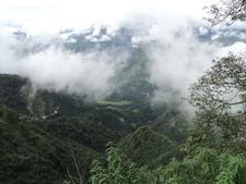 Hazy Hill Top Views