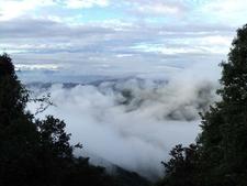 Cloud Filled Valleys Below