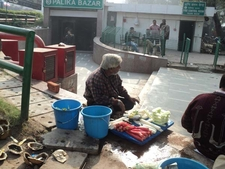Another Vendor At Central Park - Connaught Place