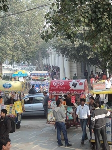 Hectic Activity At Central Park - Connaught Place