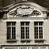 Historic View Of University
