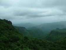 Expansive Satpura Mountain Range