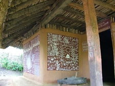 Tribal Hut Exterior