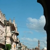 Mosque View From Shaukat Mahal Arch