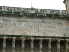 Gateway Of India Commemorative Inscription