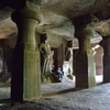 Elephanta Caves Columns And Chambers