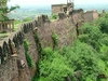 Gwalior Fort Boundary Walls