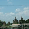 Cluster Of Cenotaphs With Betwa River