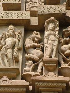 Gods - Apsaras & Animal Figures At Lakshmi Temple