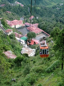 Travel In A Cable Car