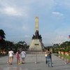 Tourists At Rizal Monument