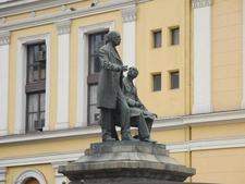 Corner Statue