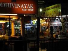 Fast Food Court At Juhu Beach