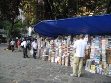Fort Booksellers Stall - Mumbai