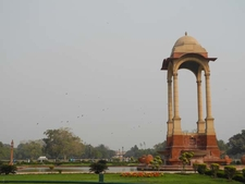India Gate Canopy - Side View