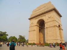India Gate Historic Monument - New Delhi