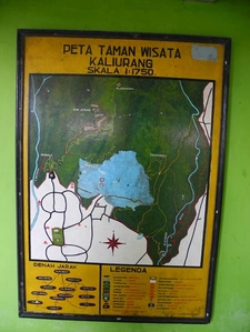 Kaliurang Forest Park Map