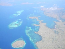 Flores Sea - Aerial View